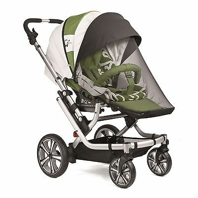 Gesslein Pram or Pushchair Sunshade and Insect Net Set - Summer Package 1
