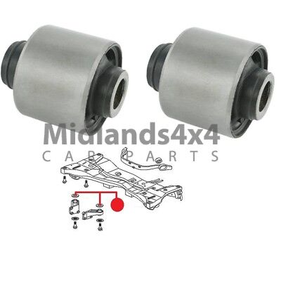 For MITSUBISHI OUTLANDER 02-06 REAR DIFF ARM BUSHES SET For DIFFERENTIAL MOUNT