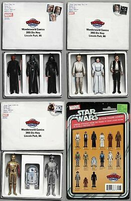 Star Wars Set Of 4 Exclusive Action Figure Variants JTC