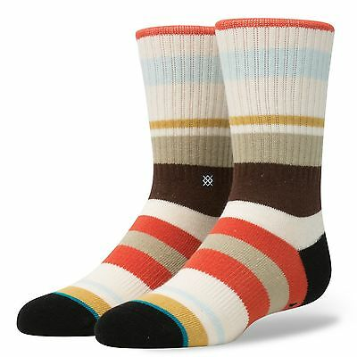 Stance Topanga Boy's Sock - Large - B526A17TOP-RED