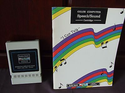 Vintage Tandy Color Computer Speech and Sound Cartrige 26-3144