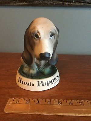 Vintage Hush Puppies Brand shoes 3D hound dog store counter adv display