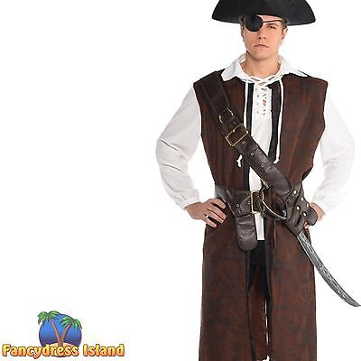PIRATE CAPTAIN SOLDIER BANDOLIER BELT HALLOWEEN Fancy dress costume accessory
