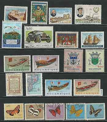 #7613 PORTUGUESE COLONY MOZAMBIQUE Lot of Mint & Used Stamps