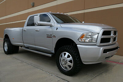 2014 Dodge Ram 3500 ST CREW CAB DUALLY 4 INCH LIFTED LONG BED 4X4 2014 DODGE RAM 3500 ST CREW CAB DUALLY LIFTED LONGBED 6.7L DIESEL 4X4 CAM 1OWNER