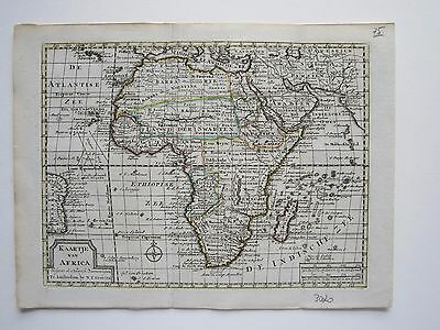 Africa Keizer/ de Lat 1788 original antique map RARE!