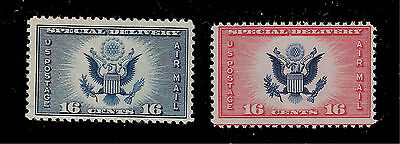 US Air Mail Sc# CE1 & Sc# CE 2 Mint NH 16 c Special Delivery (2 Stamps)