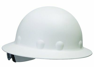 Fibre-Metal by Honeywell P1ARW01A000 Roughneck Full Brim Hard Hat with and White