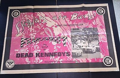 Dead Kennedys Frankenchrist Promo Poster 1985 Alternative Tentacles EX CONDITION