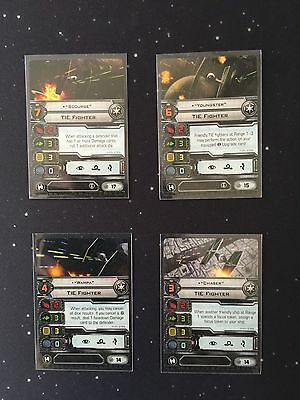 X-Wing Miniatures Imperial Assault Carrier Pilots Wampa Youngster Scourge Chaser