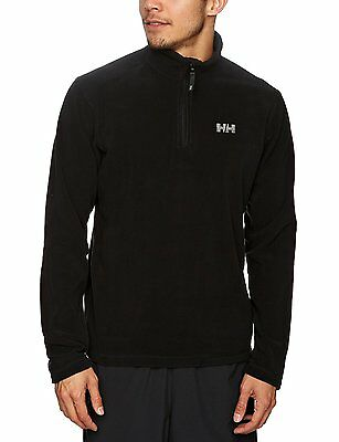 Helly Hansen Daybreaker Polaire 1/2 zip Homme Noir FR : XL (Taille Fabricant...