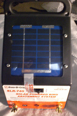 Bird-B-Gone Solar Charger New in Box