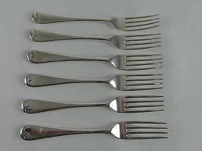 (Ref165CL) Vintage Joseph Rodgers Silver Plated Forks