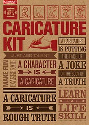 Turn Off The TV Make Your Own Caricature Kit  By Lagoon #1243