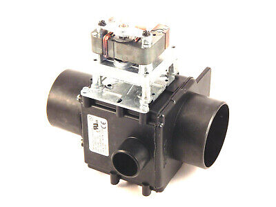 Unimac F380608 Drain Valve 3 inch, NO, with 1-1/2 inch Overflow, 230V/50-60Hz
