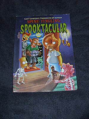 Simpsons Treehouse Of Horror Spooktacular - 2001 1St Ed Graphic Novel