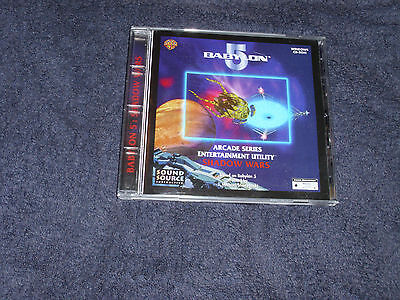 Rare Babylon 5 - Shadow Wars Cd Rom Arcade Series - In Excellent Condition