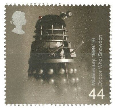 Doctor Who Dalek Stamp 44p Millennium Series Royal Mail 1999