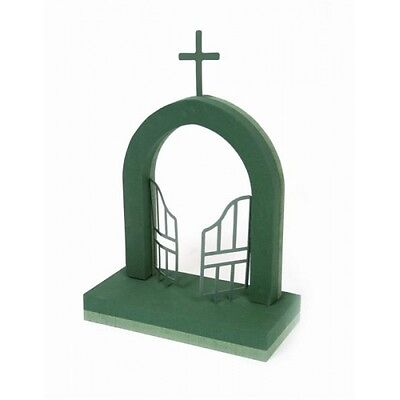 Gates Of Heaven Funeral Memorial Tribute 3D Wet Oasis Floral Foam Sku 2206