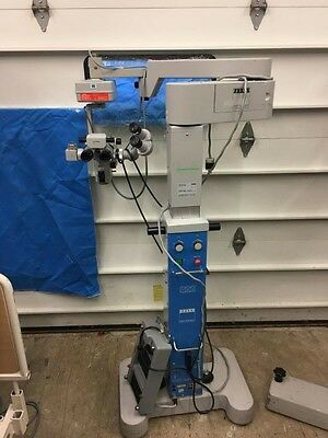 ZEISS OPMI 6SFR X/Y S22 Stand Ophthalmic SURGICAL MICROSCOPE /  WARRANTY Options