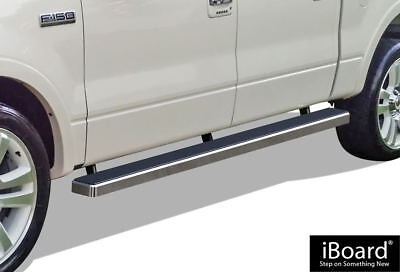 """iBoard Running Boards 4"""" Fit 04-08 Ford F-150 SuperCrew Cab"""