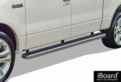 """iBoard Running Boards 4"""" Fit 04-08 Ford F150 SuperCrew Cab"""