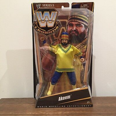WWE Mattel Elite Legends Akeem Series 5 Action Figure New In Box