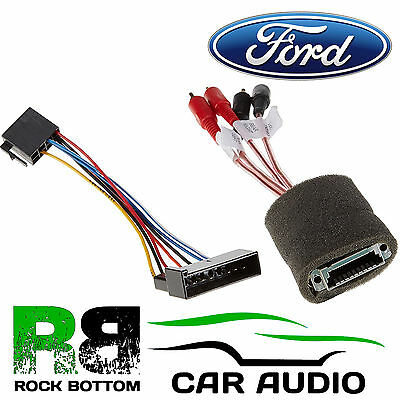 Ford Galaxy MK1 1995-2000 Car Stereo Amplifed Bypass RCA Wiring Harness PC9-403