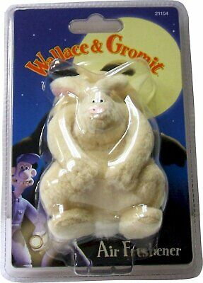 Wallace & Gromit Were-Rabbit Air Freshener - Perfect for the home or car!