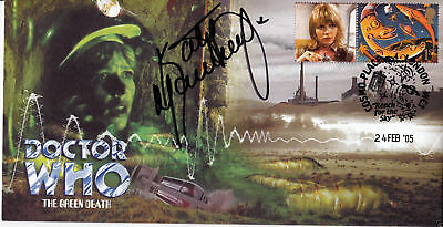 Doctor Who The Green Death Collectable Stamp Cover Signed by KATY MANNING