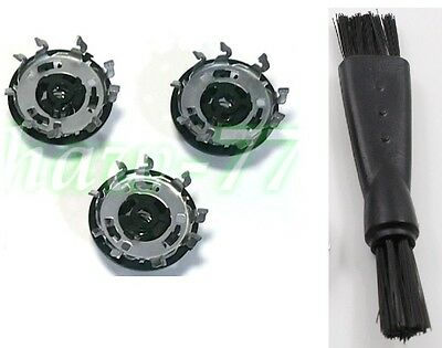 RQ11 2D Head 3X Blades 1XBrush For Philips Norelco 1150X 1160X 1190X 1180X YS524