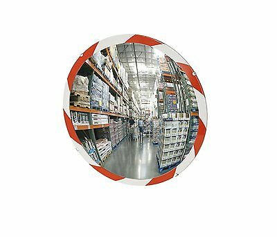 See All PLX12RT Convex Mirror, Acrylic Plastic Face, High Visibility Edge, Use,
