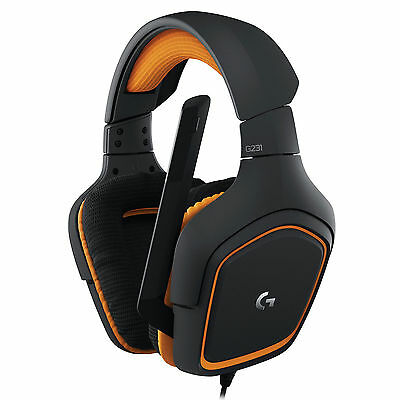 Logitech G231 Prodigy Stereo Gaming Headset with Microphone for Xbox one PS4 PC