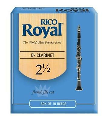 Rico Royal Clarinet Reeds un-opened Boxes of 10