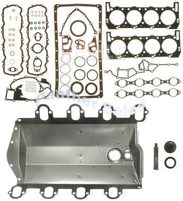 Compatible with 1988-1994 Ford 445 7.3L OHV V8 IDI Diesel ENGINETECH F7.3-1 Full Gasket Set W//O Intake