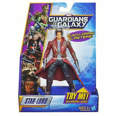 Marvel Guardians Of The Galaxy Rapid Revealers - Peter Quill Figure - NEW