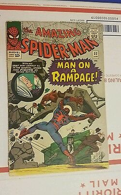 The Amazing Spider-Man #32 ~ GOOD - VERY GOOD VG ~ (1966, Marvel Comics)