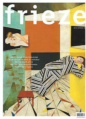 FRIEZE MAGAZINE NO.182 OCTOBER 2016 New/Mint