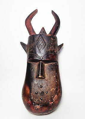 Africa | Zoomorphic Tribal Toma Mask from the Toma people of Liberia