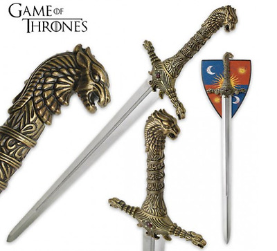 "Game of thrones Replica Sword ""Oathkeeper"" Brienne Lady stark"