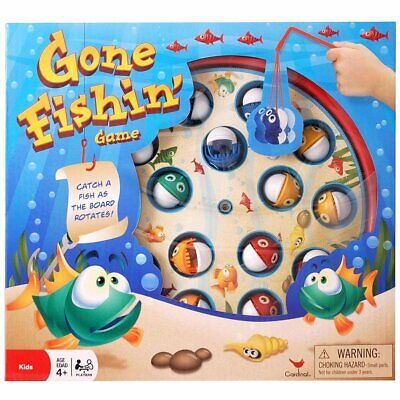 Gone Fishin Game A Modern version of the classic fun family fishing game!