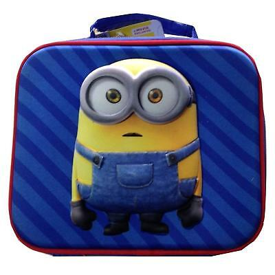Minions 3D Insulated Lunch Bag - Perfect for school or days out!