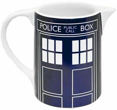 Doctor Who Milk Cream Jug - Tardis Design - Official Licensed Merchandise