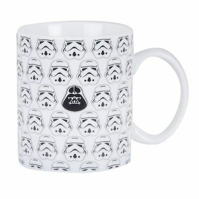 Star Wars Classic Tea Coffee Cup Mug - Stormtrooper Darth Vader Design