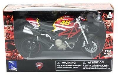 Die Cast Ducati Monster 796 1:12 Licensed Diecast Bike model Motorcycle NewRay