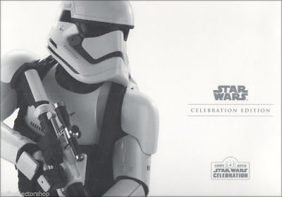 Star Wars Celebration Europe Limited Edition Storm Trooper Stamp Collectors Pack