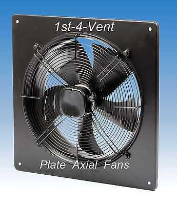 500mm PLATE AXIAL EXTRACTOR FAN, 1 PHASE, 4 Pole, Commercial Kitchen Ventilation