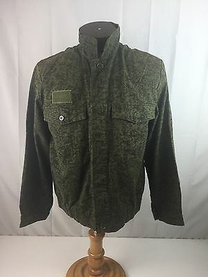 Czech Republic Army Jacket Vz92 Worm Pattern Green Camo Military Jacket