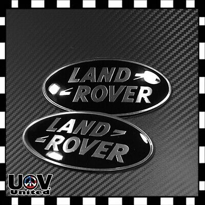For Range Rover Matte Black Hood Trunk Tailgate Emblem Badge Nameplate Letters