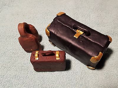 1:20 Scale Hand Made Luggage - Bench - Book Case - G